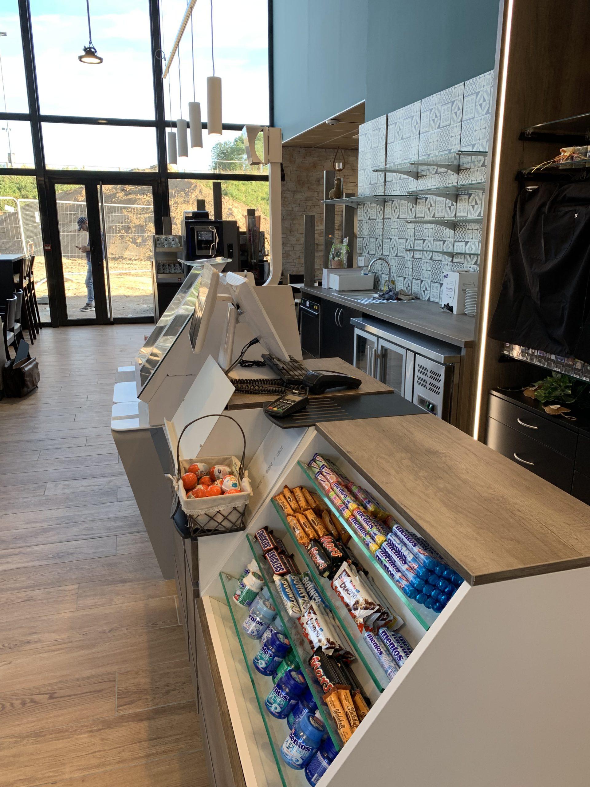 comptoir confiserie et comptoirs caisse tabac presse alsace seebach / a2m diffusion