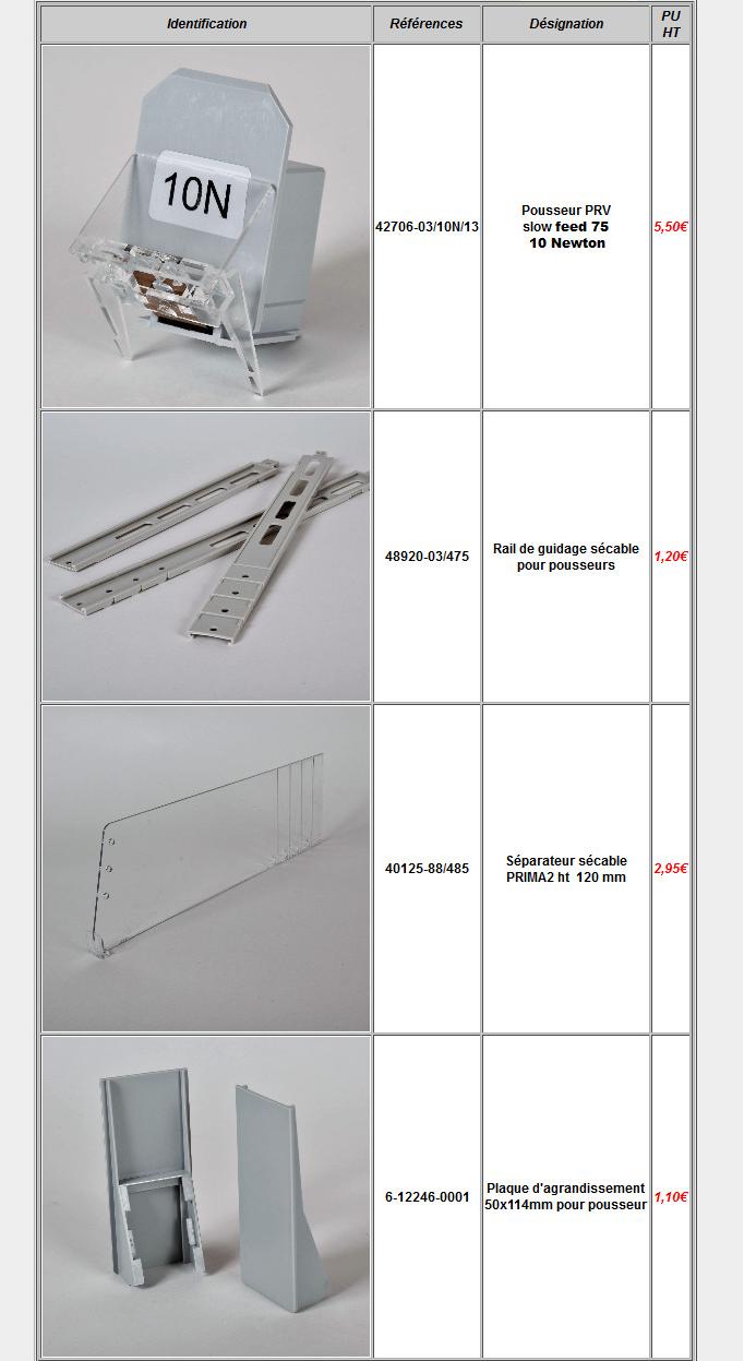 tarif poussoirs tabac cigarettes site internet/a2m difffusion