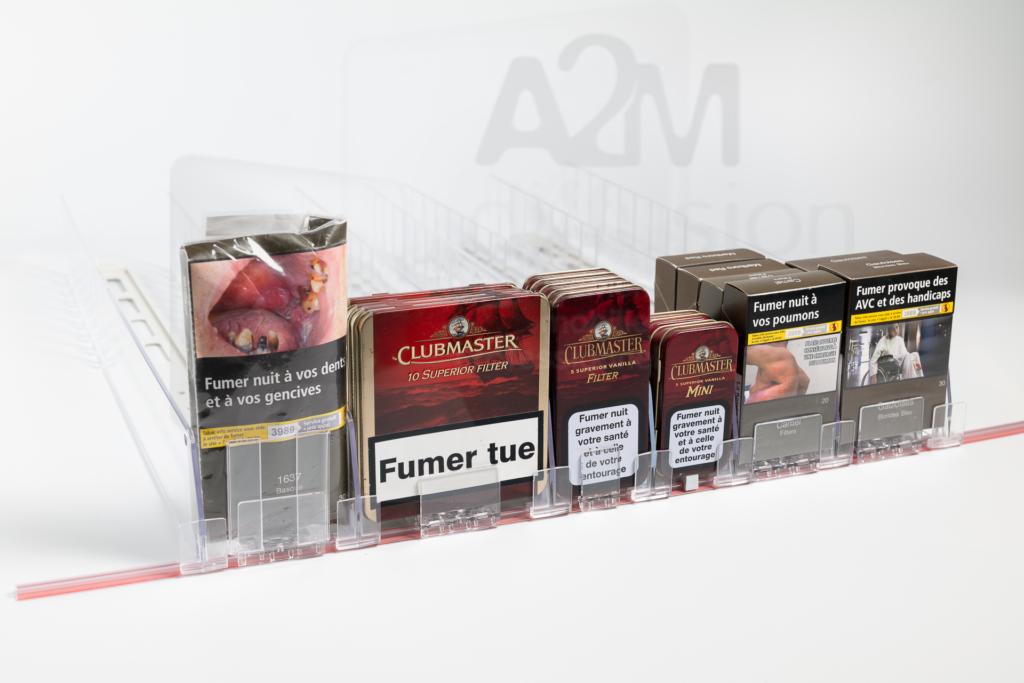 Ensemble complet poussoirs tabac a2m diffusion